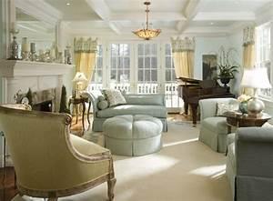 63 wohnzimmer landhausstil das wohnzimmer gemutlich for Balkon teppich mit tapeten englischer stil