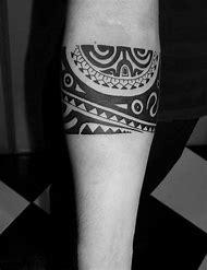 Tribal Black Band Tattoos