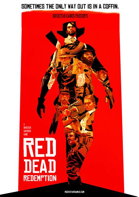 Red Dead Redemption Poster By Akadoom On Deviantart