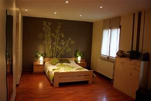chambre a coucher peinture - tendance couleur chambre adulte ides
