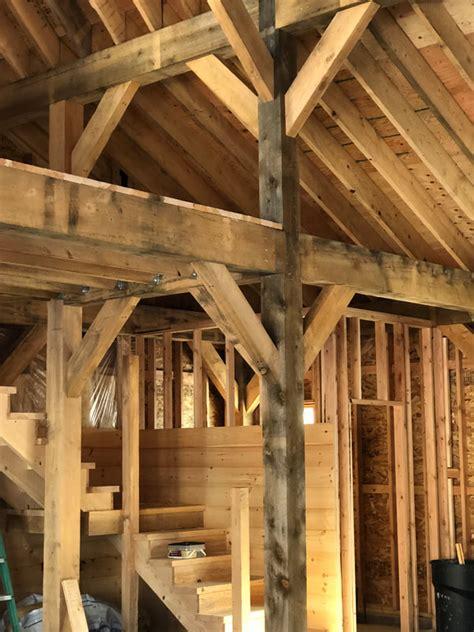 timber framing er hinman sons