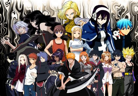 Anime Character Wallpaper - all anime characters hd wallpaper wallpapersafari