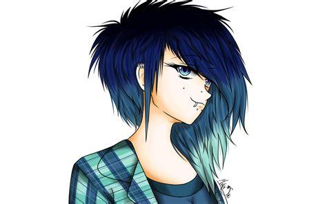 Punk-rock Girl By Mstarsart On Deviantart