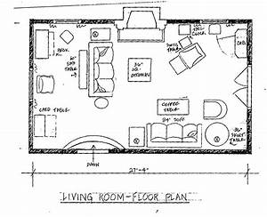 Living Room Floor Plan
