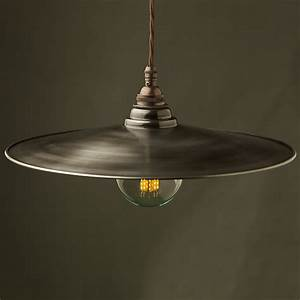 Metal shade pendants edison light globes llc
