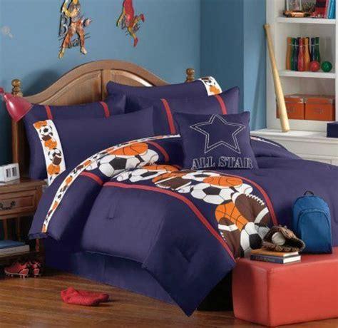 boys sports bedroom sports basketball baseball football teen boys twin 10939 | f071c992ff4350ff1c471556cdf55e16