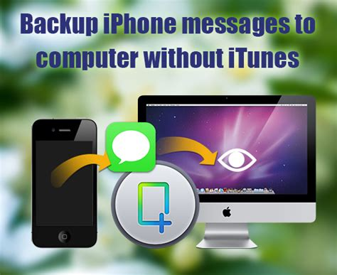backup iphone without itunes way to backup ipone messages to computer 171 sabay