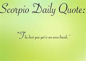 Astrology Quote... Top Scorpio Quotes