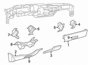 Chevrolet Express 2500 Dashboard Air Vent  Deflector