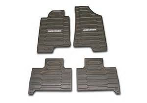 oem hummer h3 custom vinyl floor mats autotrucktoys com