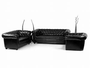 Chesterfield Sofa Schwarz : chesterfield 3 sitzer sofa polstersofa antikschwarz ~ Whattoseeinmadrid.com Haus und Dekorationen