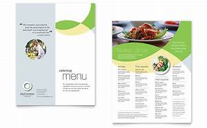 Food catering menu template word publisher for Menu templates for publisher