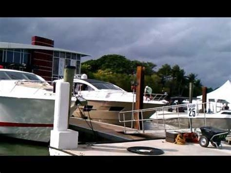 Miami Boat Show Statistics by Yachts In Miami 2013 Boat Show