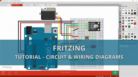 fritzing tutorial a beginners guide to circuit wiring diagrams youtube
