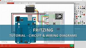 Fritzing Tutorial - A Beginners Guide To Making Circuit  U0026 Wiring Diagrams