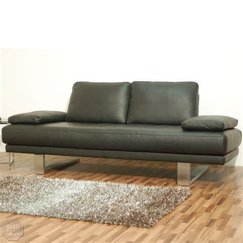 rolf sofa leder original quot rolf quot freischwinger sofa quot sob 6600 quot in leder schwarz 227 cm ebay