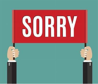 Apology Sorry Clip Vector Apologize Reconciliation Sign