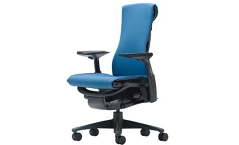 test driving the high tech office chairs