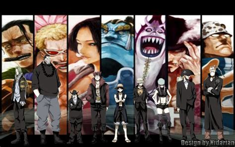Shichibukai X Supernova- One Piece Wallpaper By Nidarian