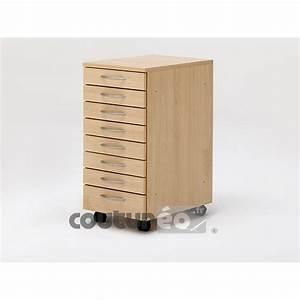 meuble n90 de rangement a 8 tiroirs rauschenberger coutureo With meuble 8 tiroirs