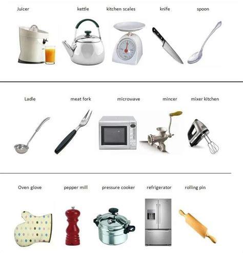Kitchen Items Vocab by Vocab Kitchen Tools Vocabulary