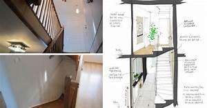 awesome entree avec escalier gallery design trends 2017 With couleur pour une cage d escalier 12 decoration hall d entree escalier