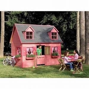 cabane enfant rosalie en bois couleur unique forest style With tente pour jardin pas cher 1 maisons cabanes et tentes de jardin enfant pas cher 224