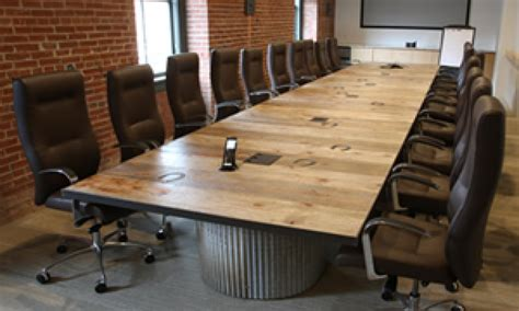 conference room table and chairs office furniture conference table rustic wood conference