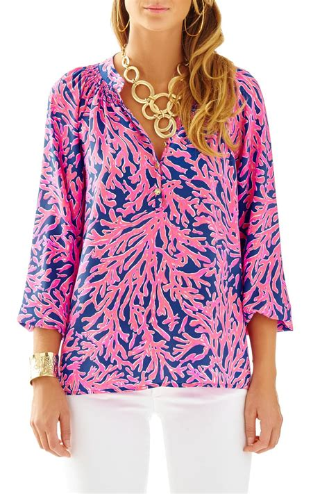 lilly pulitzer blouse lilly pulitzer elsa top from sandestin golf and