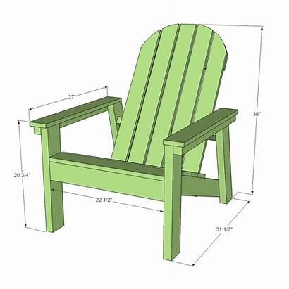 Adirondack Chair Plans Ana Depot 2x4 Dimensions