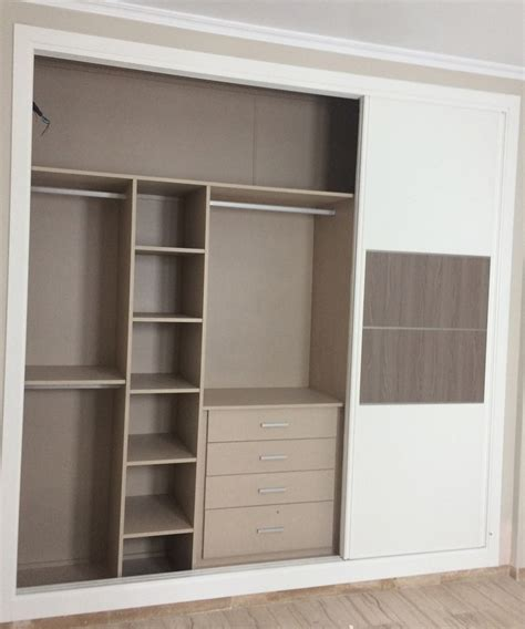interior cajones armario empotrado  medida sevilla