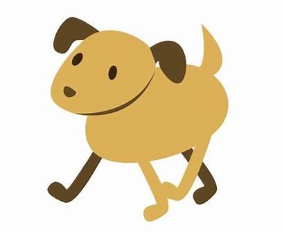 Dog Animated Walking Cartoon Person Morning Transparent