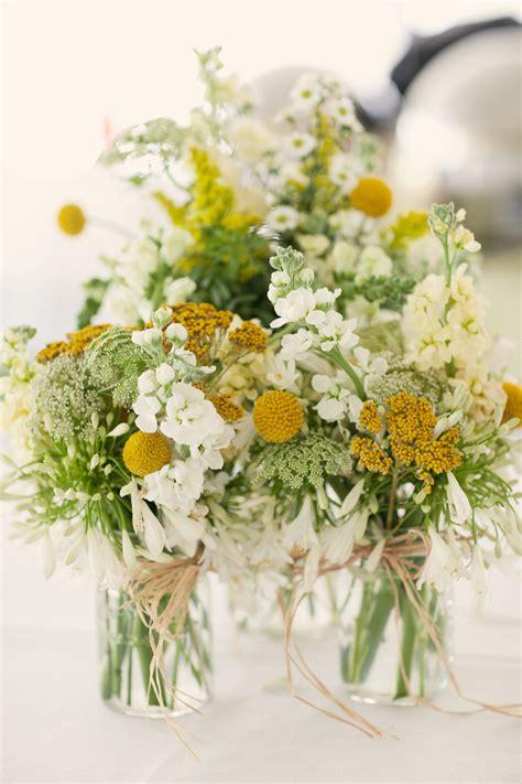 whimsical spring wedding flowers  wedding reception