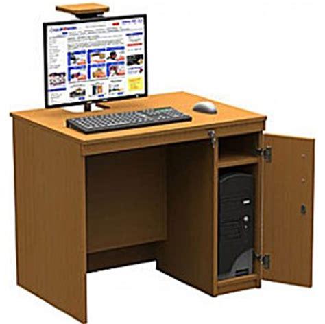 Cpu Cupboard by Ict Computer Desk With Sliding Top Cpu Cupboard Ict Desks
