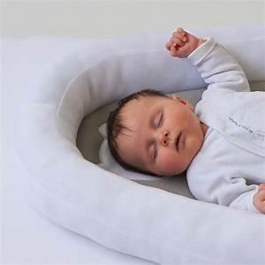 Cale Bebe Lit : cale b b r ducteur b b nest air blanc de candide en ~ Premium-room.com Idées de Décoration