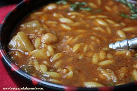 cuisine algerienne chorba algérienne aux langues d 39 oiseaux les joyaux de sherazade