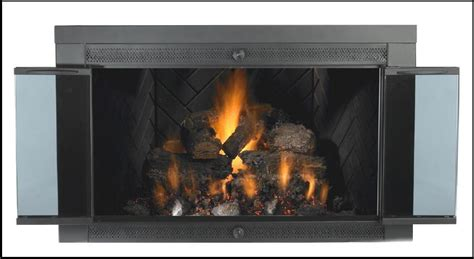 fireplace replacement glass we pyro ceramic and tempered glass for fireplaces
