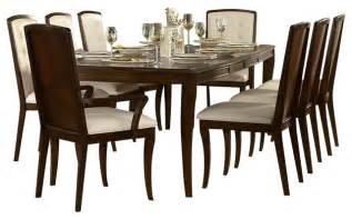 9 dining room set homelegance abramo 9 rectangular dining room set in