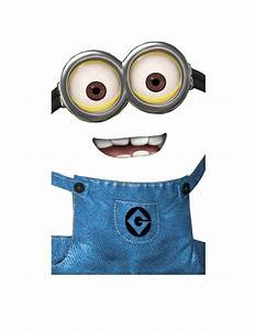 17 best images about birthday ideas on pinterest With minion overall template