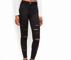 New Look Ripped Super Skinny Jeans | Mxei
