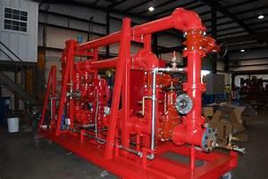 Fire Pump Package  U0026 Skids