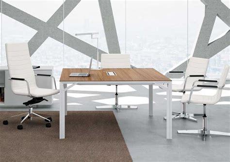 x8 table de r 233 union carr 233 e 140 x 140 cm noyer monbureaudesign fr