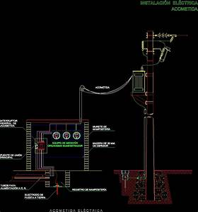 Service Entrance Conductor Details Dwg Detail For Autocad