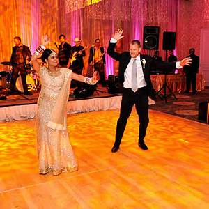The Reception - Celebrity Wedding: Parminder Nagra & James ...