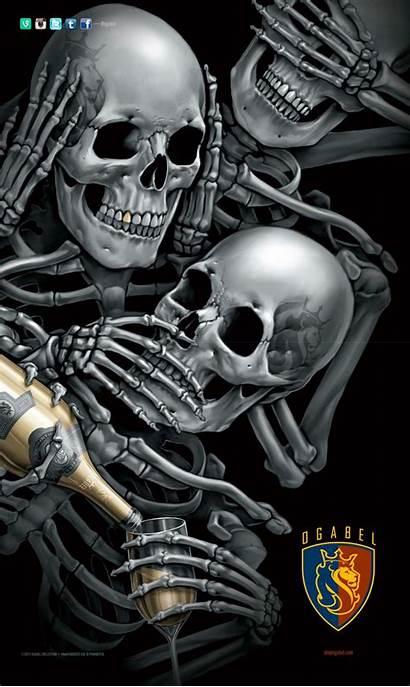Abel Og Skull Skulls Badass Chicano Quotes