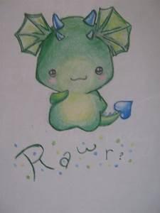 Rawr cute dinosaur/ dragon by snowwhiteandtheseven on ...