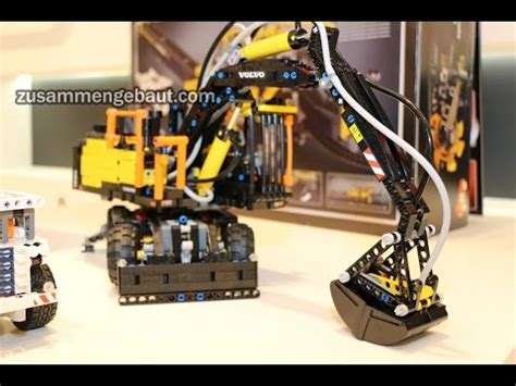 lego technic volvo ew   toy fair