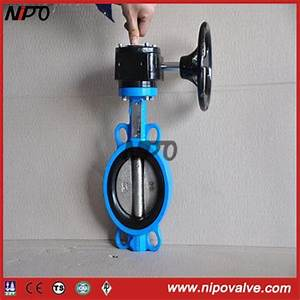 Manual Operated High Performance Wafer Butterfly Valves