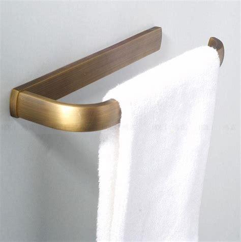 copper towel ring bathroom towel holder shelf antique
