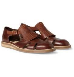 Men Leather Sandals Shoes